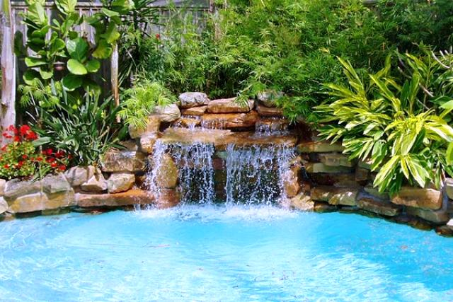 Water Features Gallery Backyard Oasis Pools High Quality